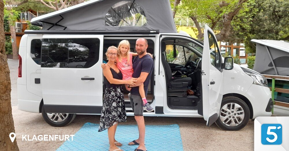 Let's go on an adventure: we tested the Renault Trafic Camper for you!  in 5 minutes