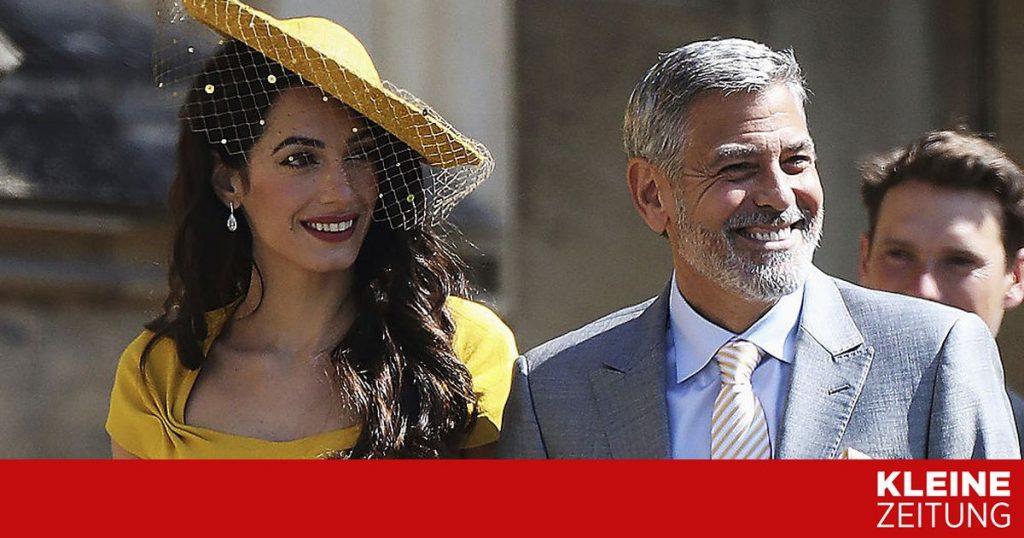 Will Clooney have offspring again?  «Kleinezeitung.at