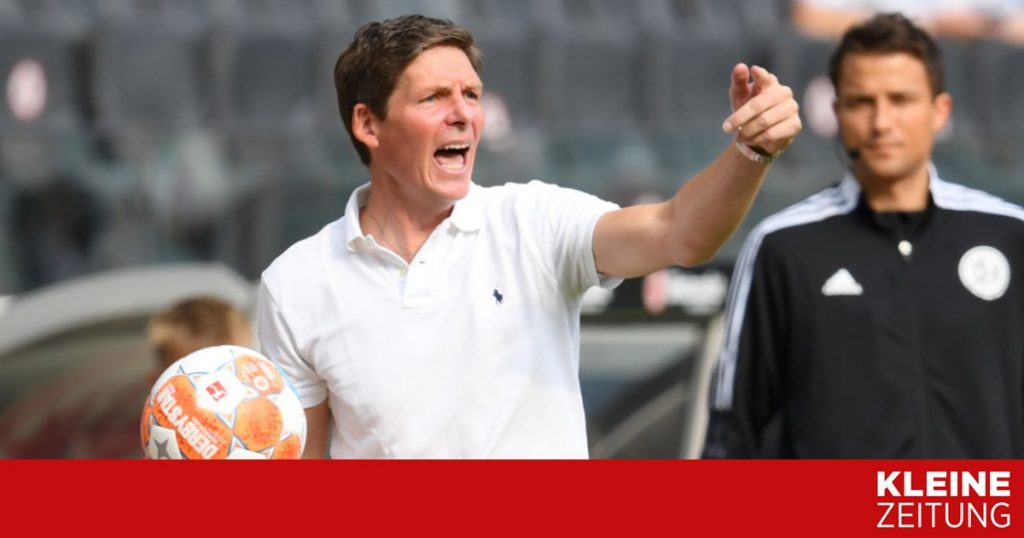Oliver Glasner and Eddie Hutter are still waiting for their first win «kleinezeitung.at