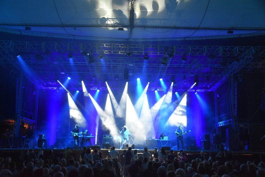 Wiesen Festival District: Opus is shown in Wiesen for the last time