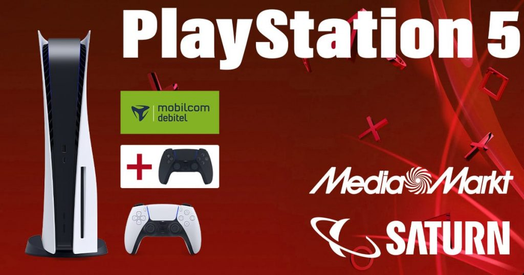 PlayStation 5 + Dualsense console for only 1 € with these mobile contracts!