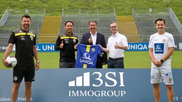 3SI Immogroup becomes a new partner of Vienna FC!