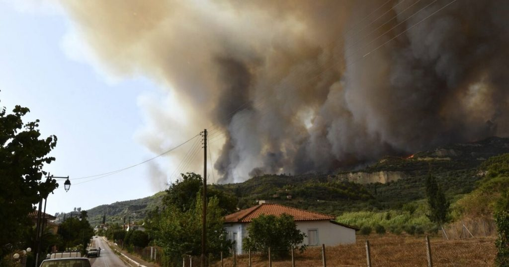 43 firefighters in Salzburg do their part to tackle forest fires in Greece