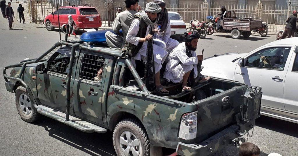 Afghanistan - The Taliban captured Mazar-i-Sharif