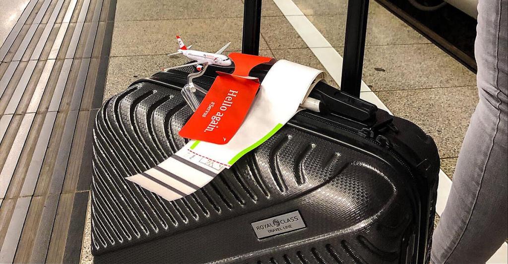 Checking baggage on the train |  Nachrichten.at
