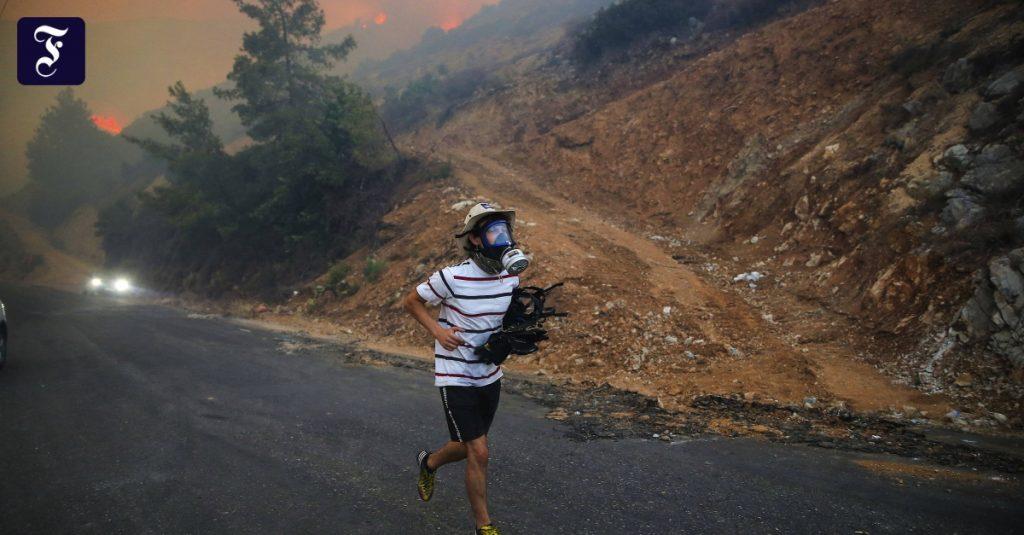 Erdogan talks about the worst forest fires in Turkey's history