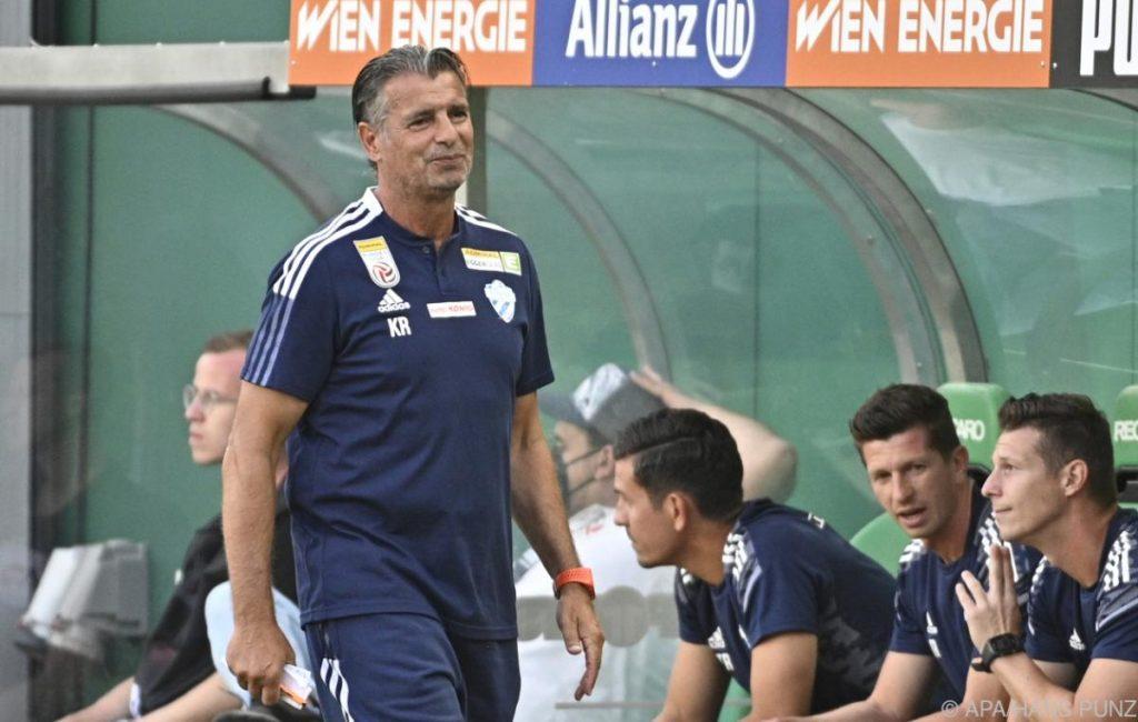 Hartberg also wants a surprise against Salzburg