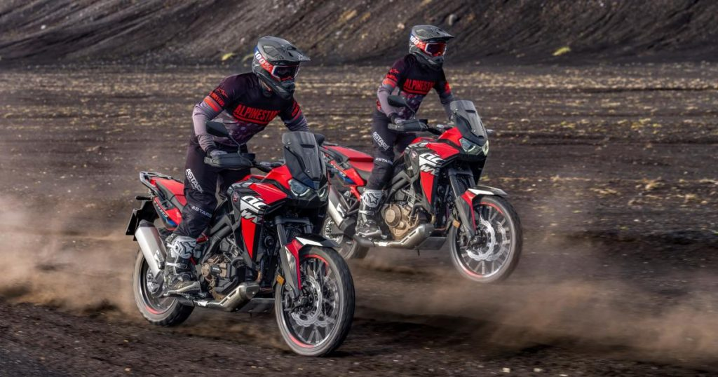 Honda: What's new for the 2022 CRF1100L Africa Twin?