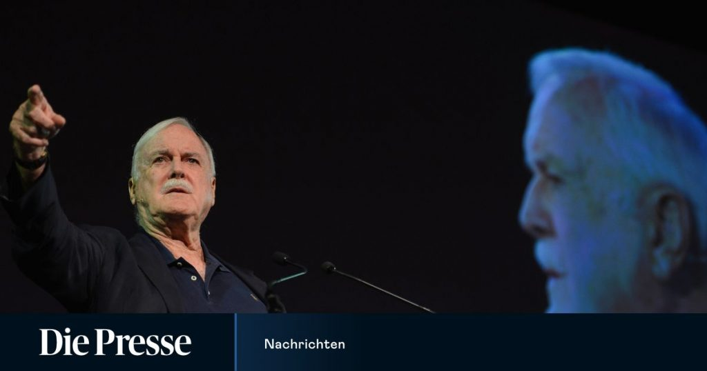 John Cleese turns TV show into culture abolition