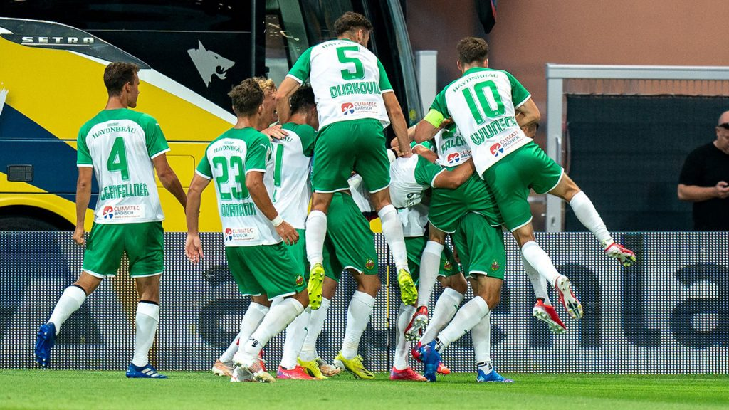 League Two: St. Polten loses despite Allar's injury against Rapid 2 - Football