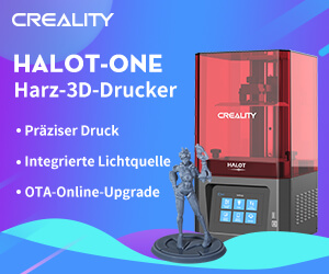 HALOT-ONE Banner by Creality