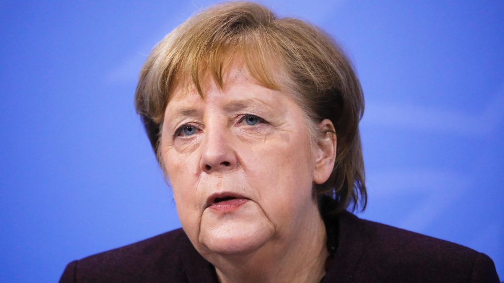 Merkel is now interfering in the election campaign