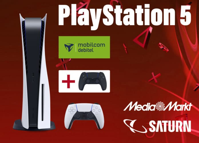 PlayStation 5 for only 1 euro?  Yes - with these cell phone contracts!