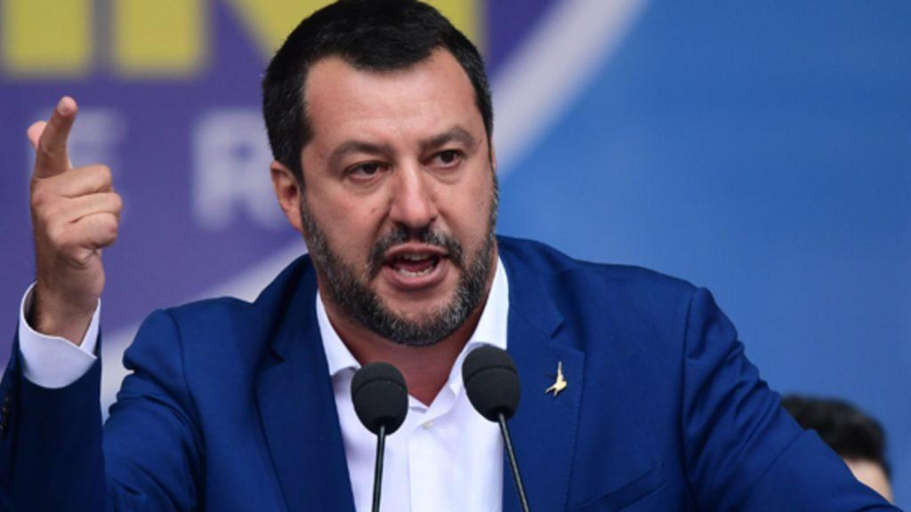 Salvini star Italian Prime Minister Draghi Alarm