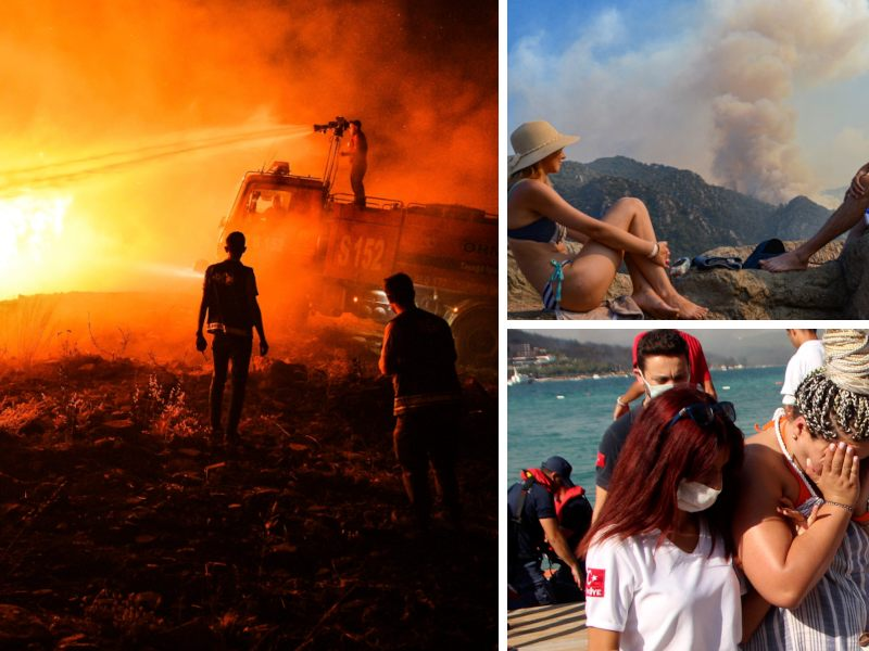Southern holiday countries suffer from extreme heat and wildfires - the world -