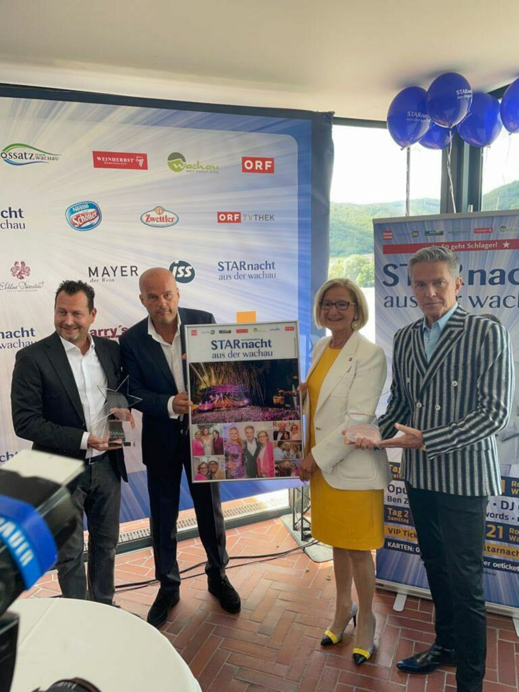 Star Night 2021: Rossatz as a setting for the 9th Star Night of Wachau