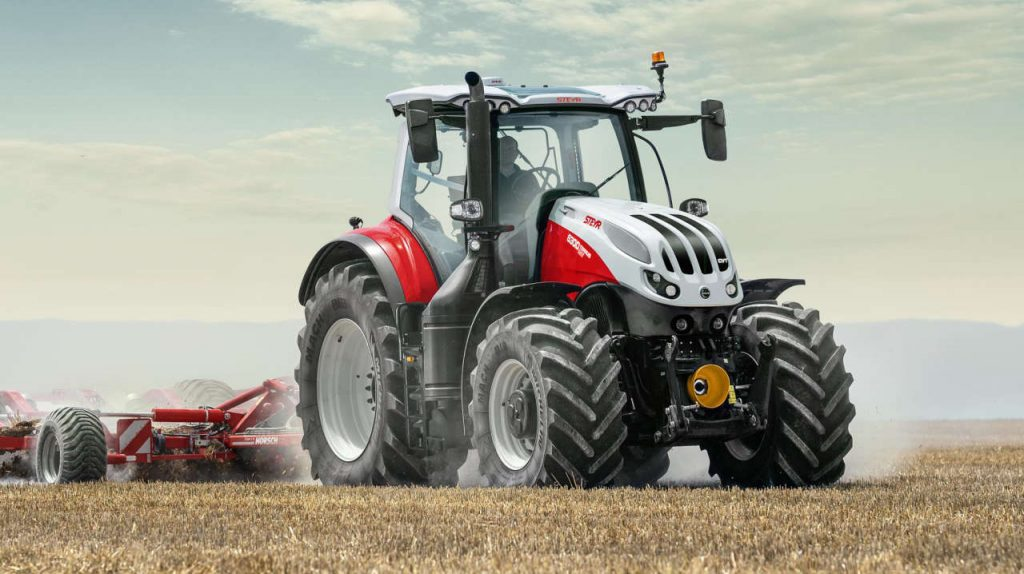 Steyr introduces the new Terrus, Multi, Kompakt and Absolut