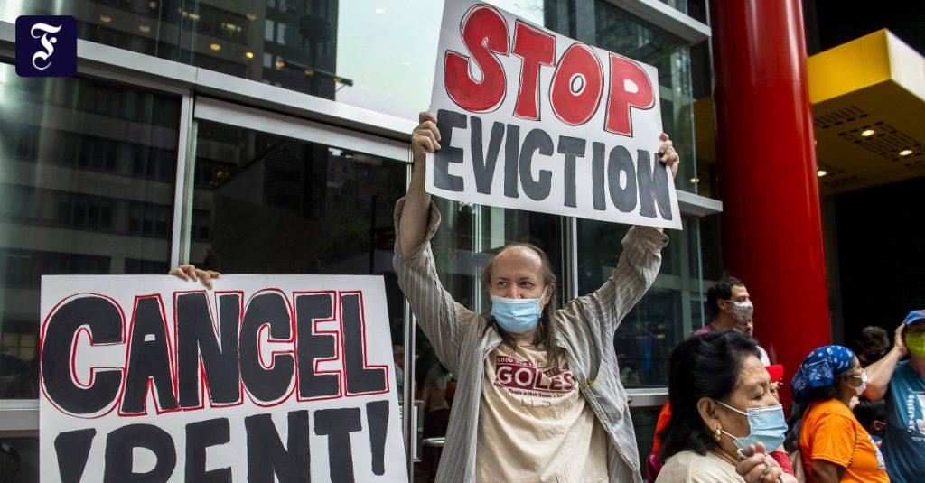 Supreme Court overturns decision to halt eviction