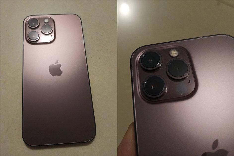 Suspicious photos should appear your iPhone 13 Pro dark purple