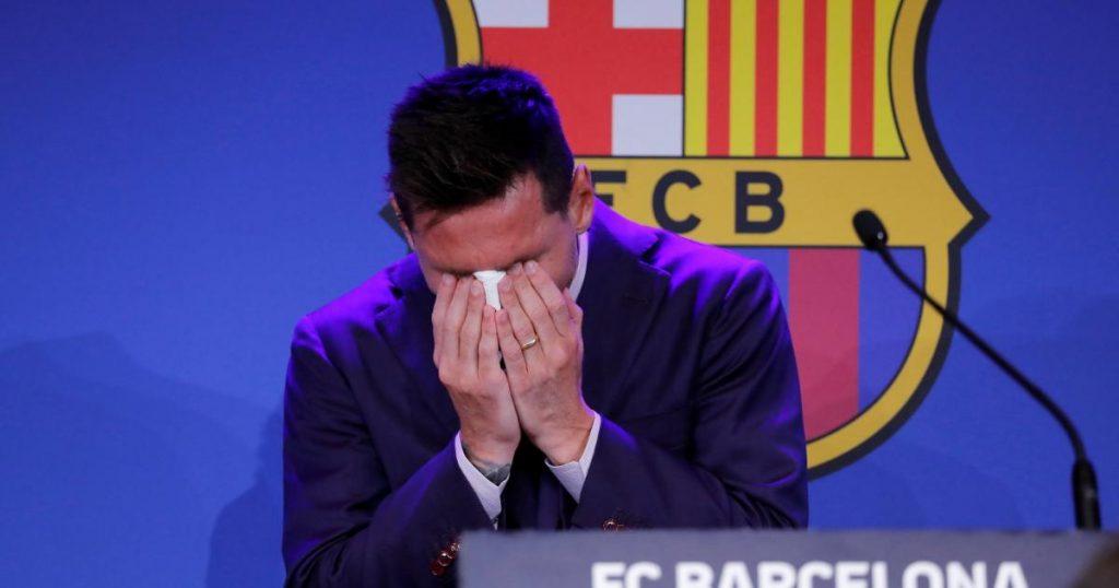 Tears at Camp Nou: Messi said goodbye to Barcelona