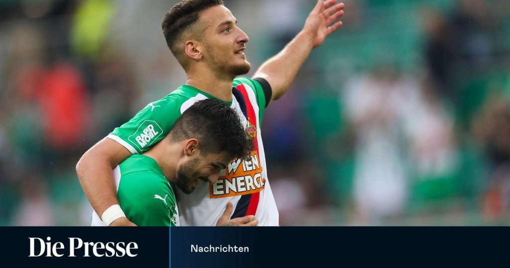 The Vienna Derby does not look at the table