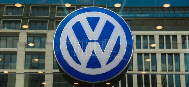 VW-Aktie leichter: VW drosselt Fertigung in Wolfsburg wegen Chipmangel