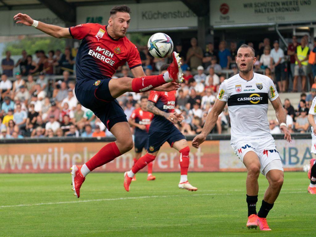 Vorarlberg fans attacked the speedy Altach-Altach