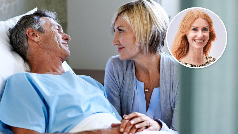 When a partner becomes seriously ill