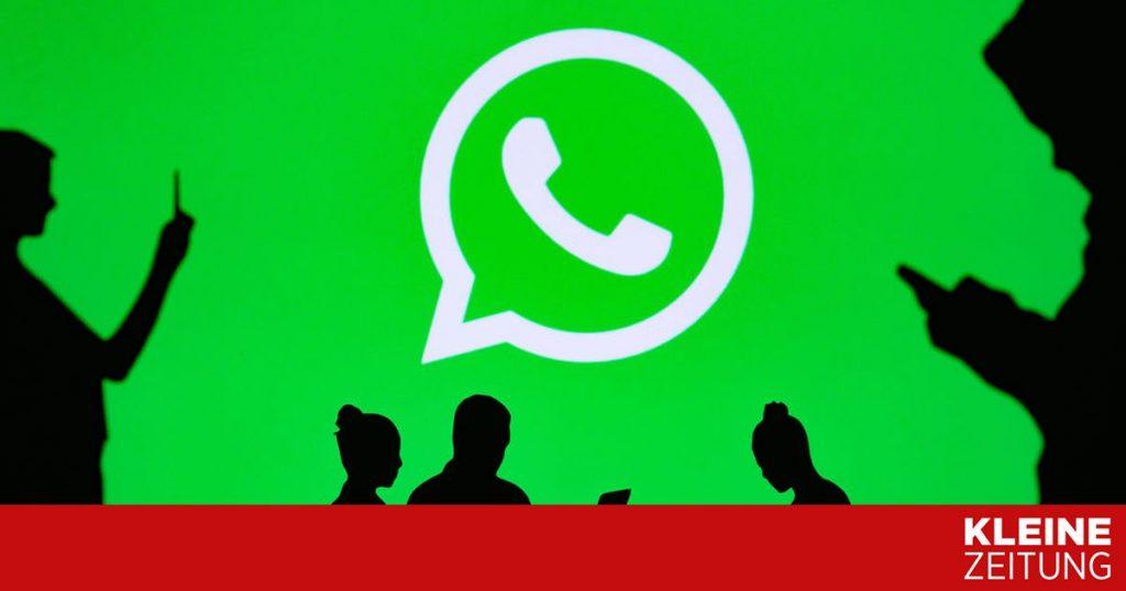 The Irish data protection authority punishes WhatsApp with 225 million euros «kleinezeitung.at