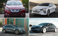 The best mid-range electric cars in the test.