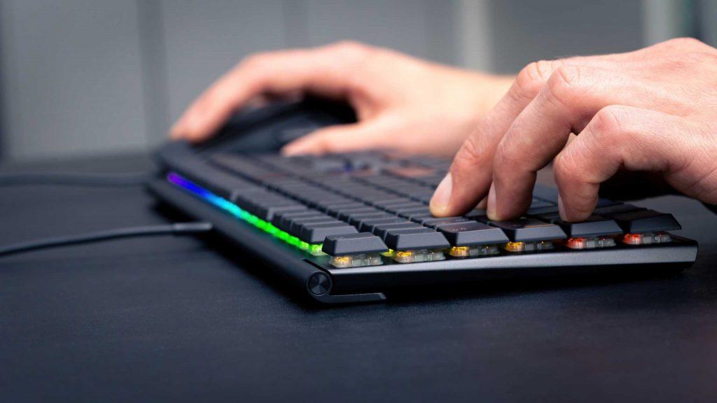 CHERRY MX 10.0N RGB . Mechanical Keyboard