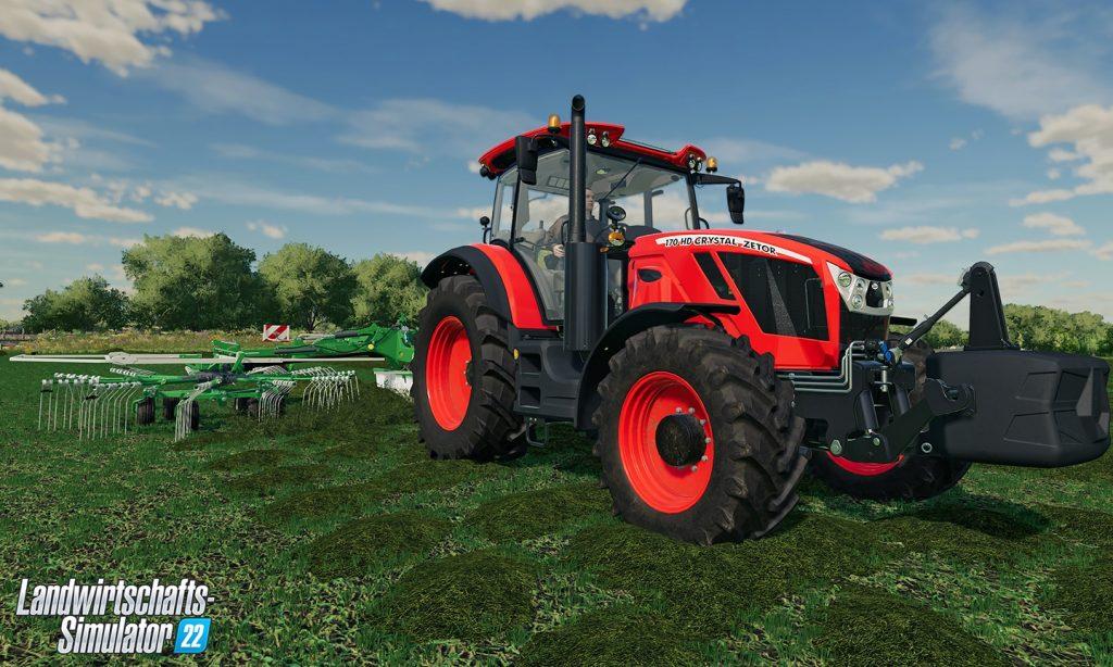 "Farming Simulator 22 supports ""cross-platform multiplayer"""