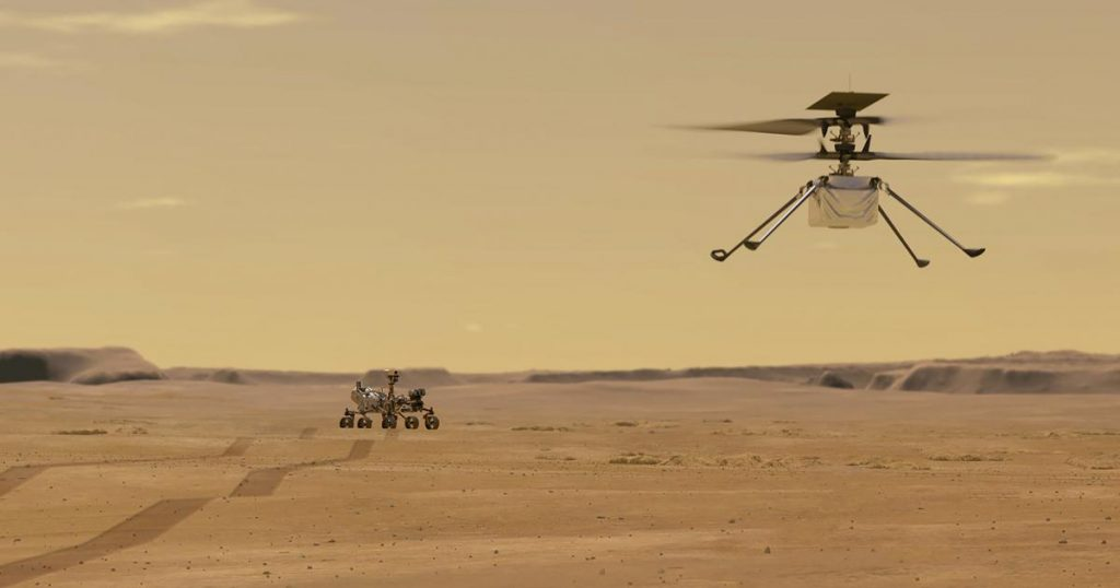 Why is a Mars helicopter becoming more difficult to fly?