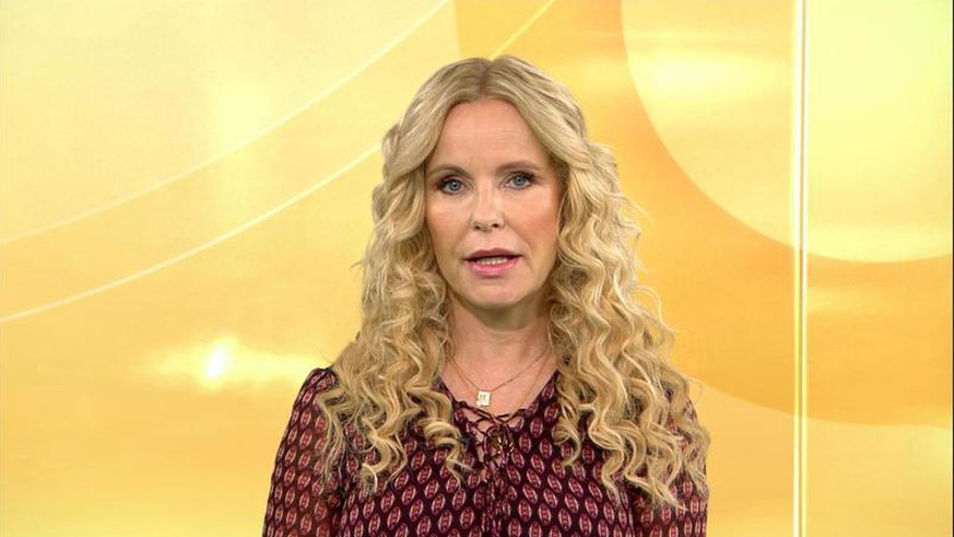 After a bad incident on the RTL show: Katja Burchard provides an image update