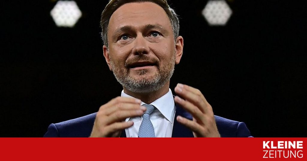 """Lindner, head of the FDP for """"Jamaica"""" with the Union and the Greens «kleinezeitung.at"""