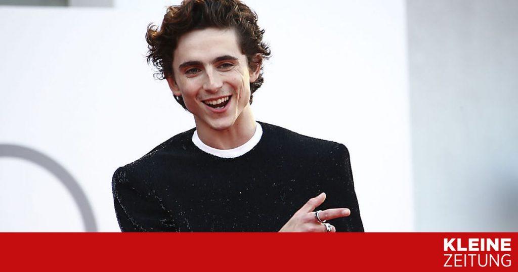 """Timothée Chalamet became """"Willy Wonka"""" «kleinezeitung.at"""