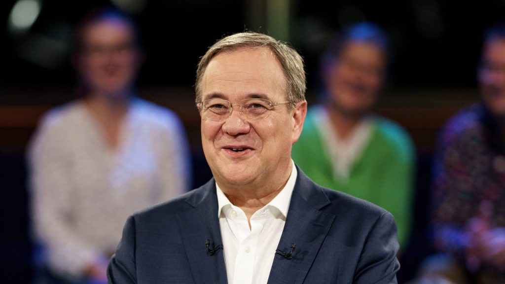 ARD poll on the Bundestag elections: Armin Laschet is catching up - domestic politics