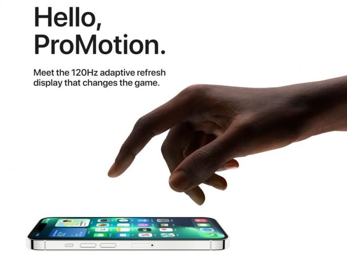 Apple iPhone 13 ProMotion-Display Display