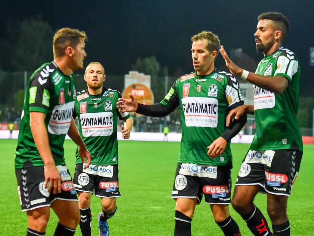 Austrian FA Cup: SV Ried wins OÖ-Derby against Steyr - Bundesliga