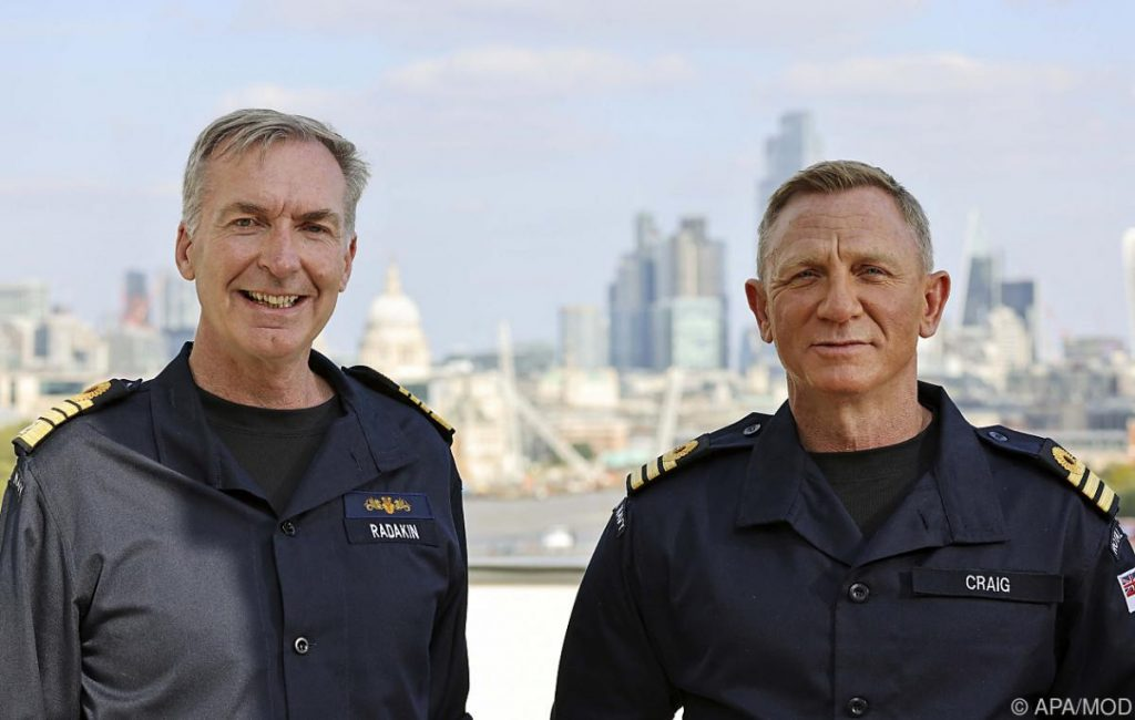 Bond actor named Craig as honorary captain