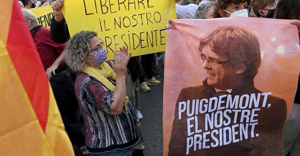 Carles Puigdemont was arrested in Italy and released a day later
