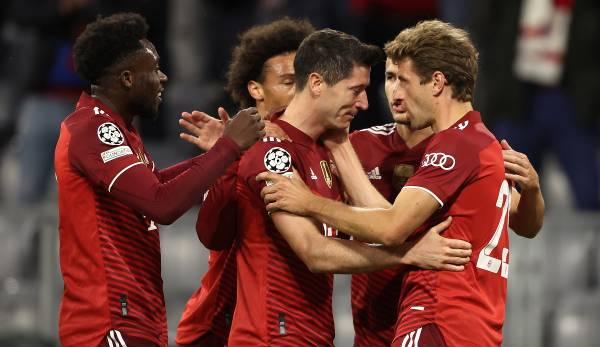 FC Bayern Munich - Individual results and ratings for the home game CL vs Dynamo Kiev
