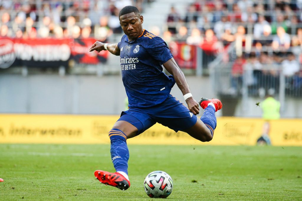First appearance in the Champions League with Alaba with Real