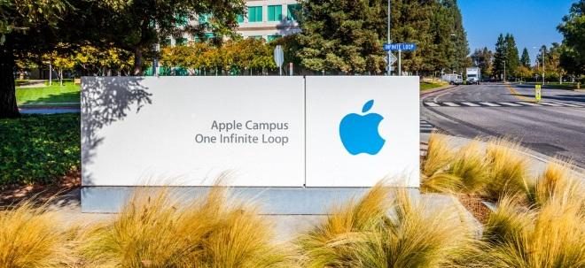 Apple-Aktie in Grün: Apple ändert Zahlungsregeln im App Store für andere Entwickler