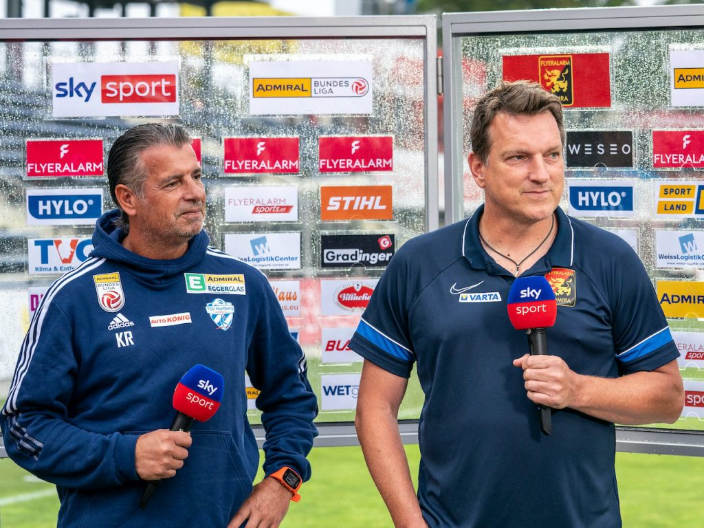 Here's what Andreas Herzog and Kurt Ross said after 1:1 between Admiral and Hartberg - Bundesliga