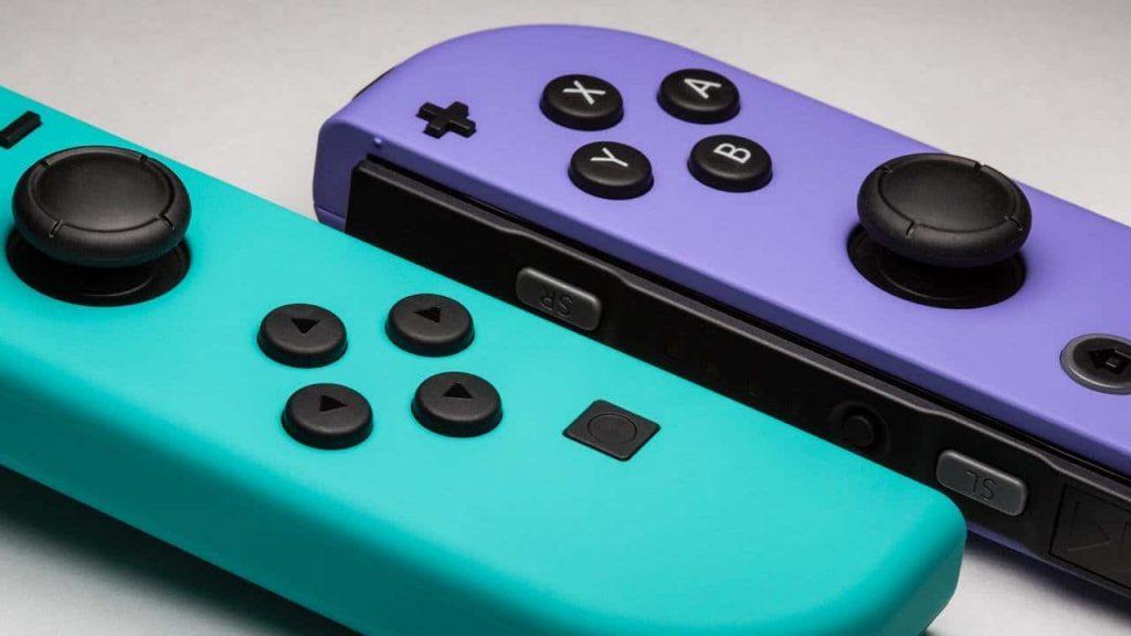 Die aktuellen Joy-Con der Nintendo Switch (C)Nintendo