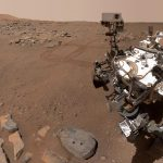 Mars probe sends new selfies to Earth