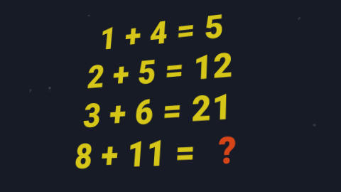 Millions think of a series of numbers - do you know the solution?