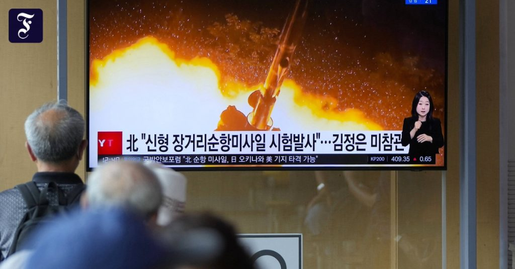 North Korea continues its missile tests