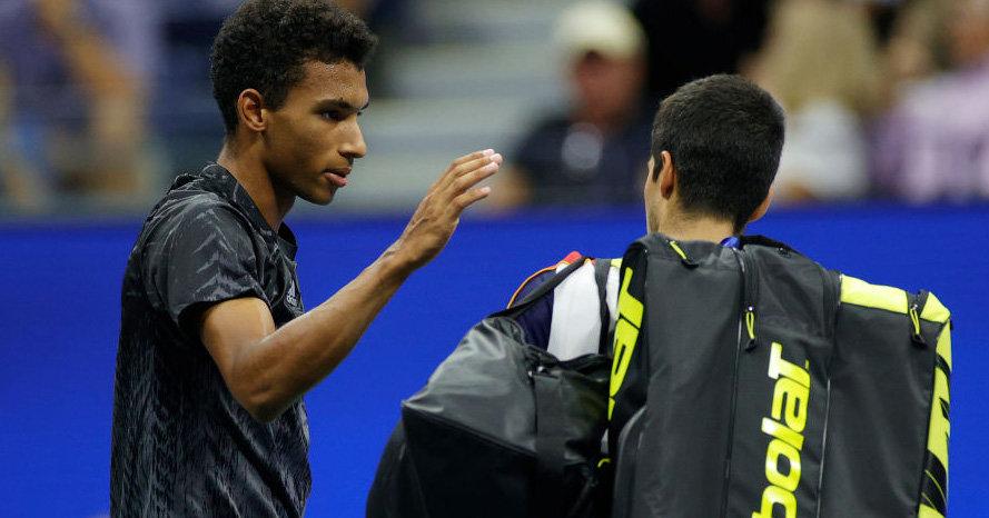 Oger Aliases after Alcaraz surrender in the semi-finals Tennisnet.com